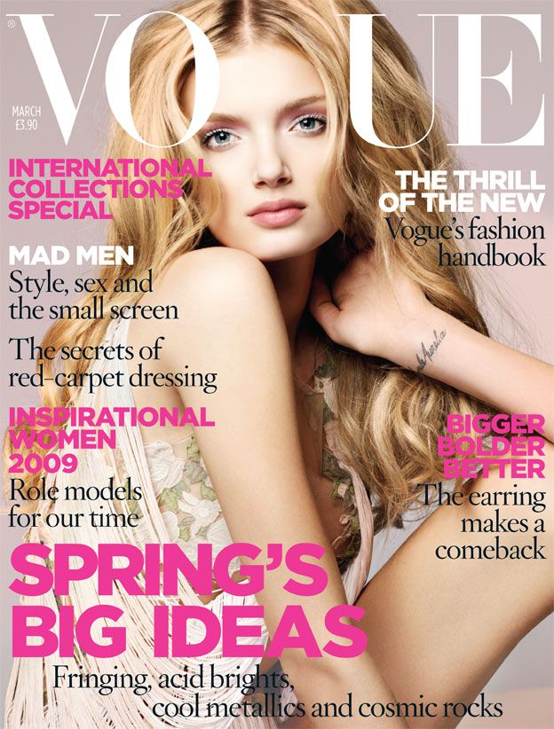 British Vogue Cover March 2009