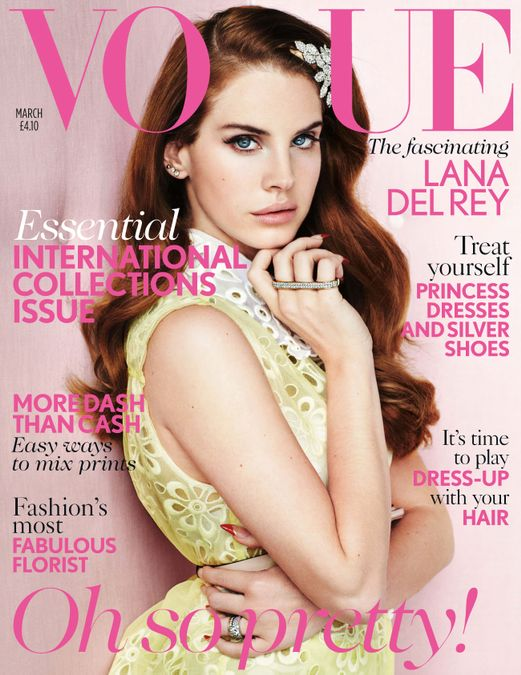 British Vogue Cover March 2012