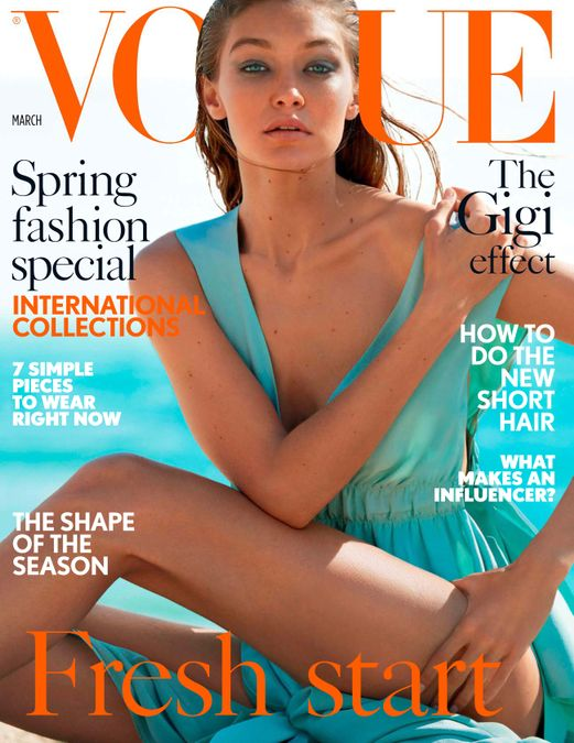 British Vogue Cover March 2017