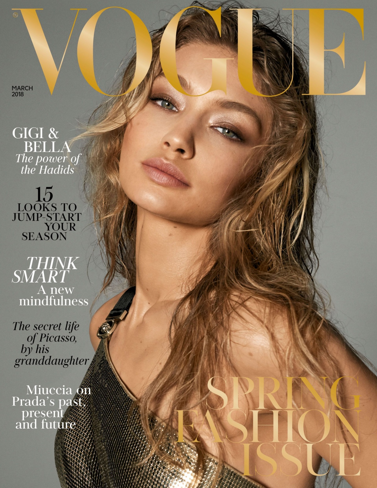 British Vogue Cover March 2018