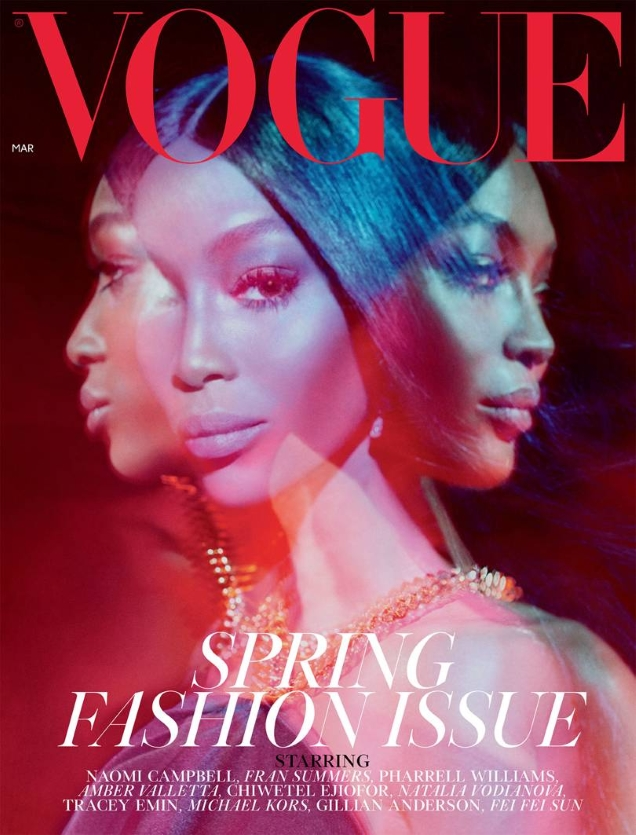 British Vogue Cover March 2019