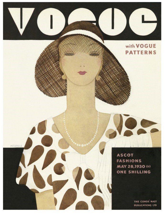 British Vogue Cover May 1930