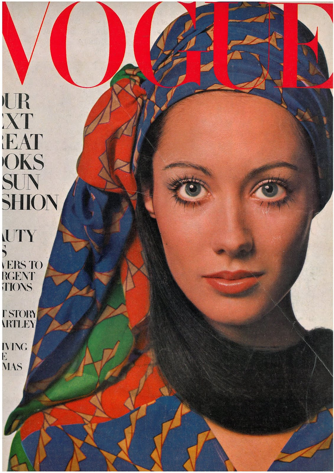 British Vogue Cover May 1969
