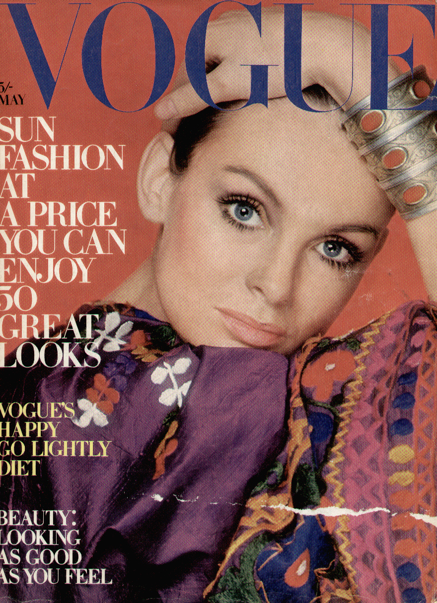 British Vogue Cover May 1970