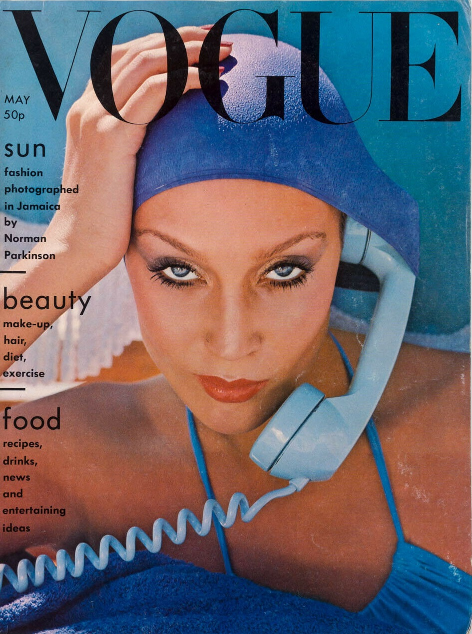 British Vogue Cover May 1975