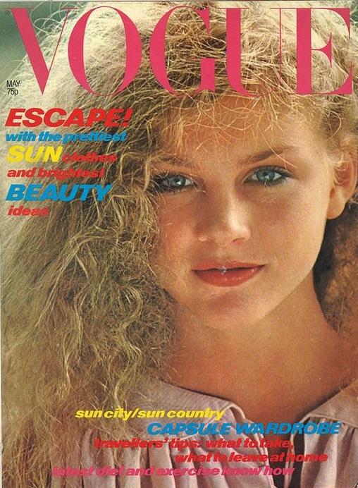 British Vogue Cover May 1978