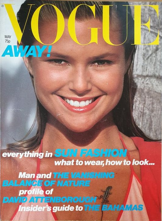 British Vogue Cover May 1979