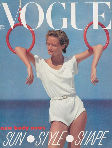 British Vogue Cover May 1983