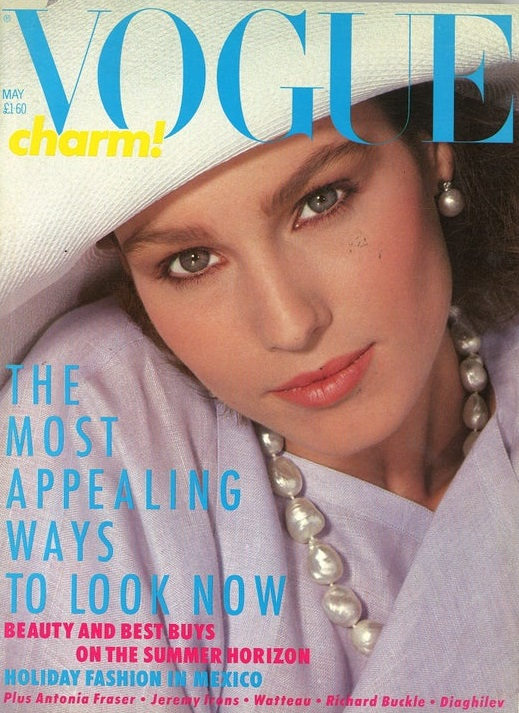 British Vogue Cover May 1984