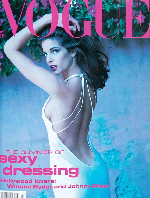 British Vogue Cover May 1991