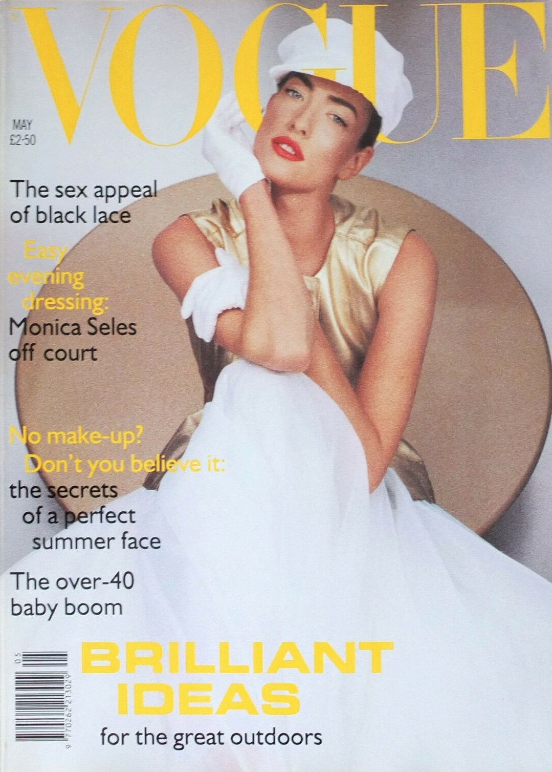 British Vogue Cover May 1992