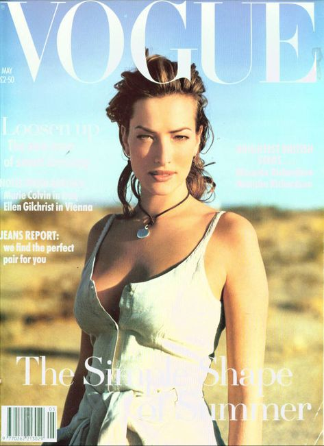 British Vogue Cover May 1993