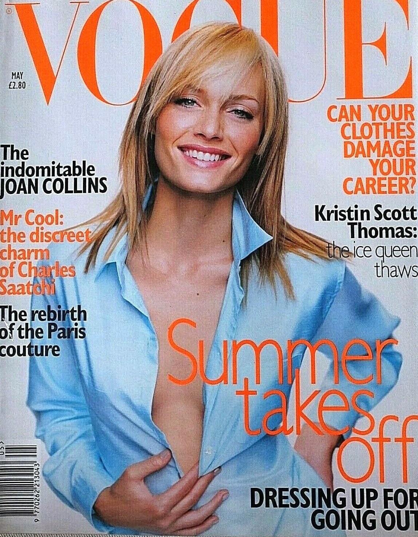 British Vogue Cover May 1996