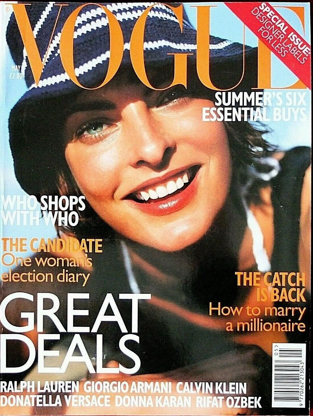 British Vogue Cover May 1997