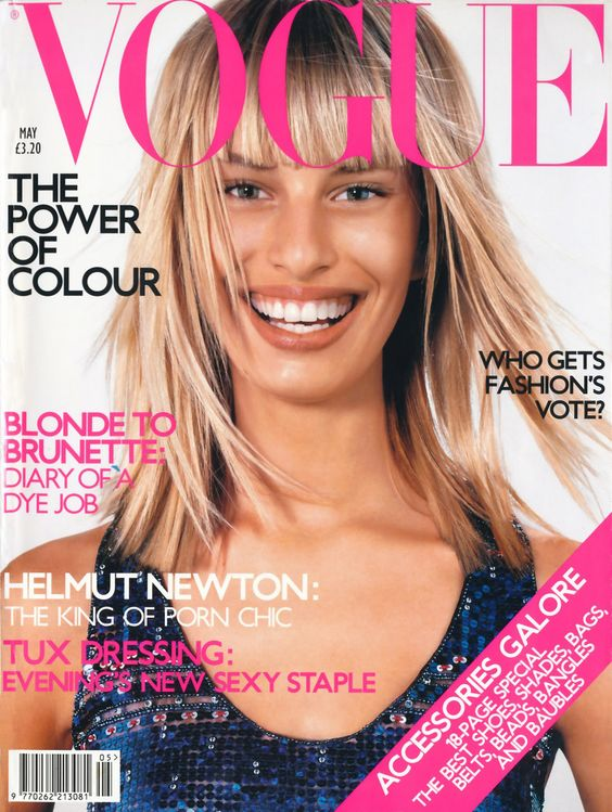 British Vogue Cover May 2001