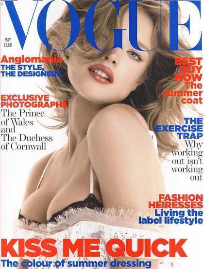 British Vogue Cover May 2006