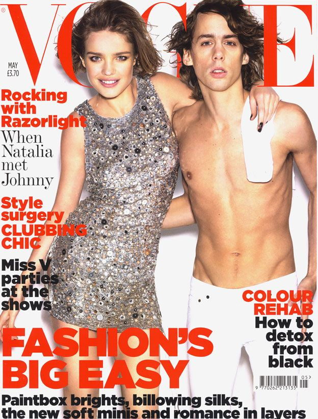 British Vogue Cover May 2007