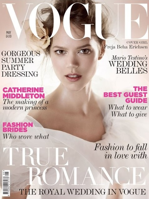 British Vogue Cover May 2011