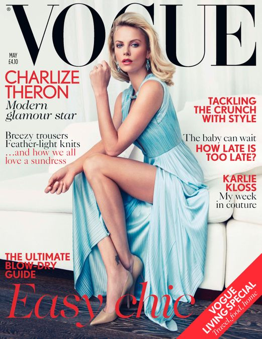 British Vogue Cover May 2012