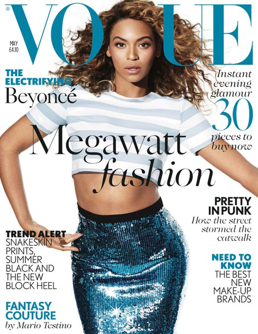 British Vogue Cover May 2013