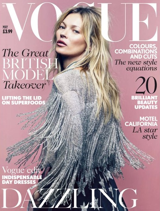 British Vogue Cover May 2014