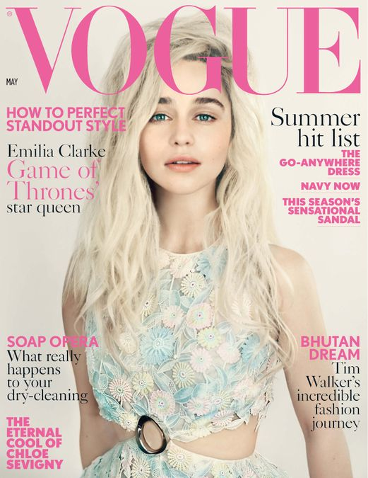 British Vogue Cover May 2015