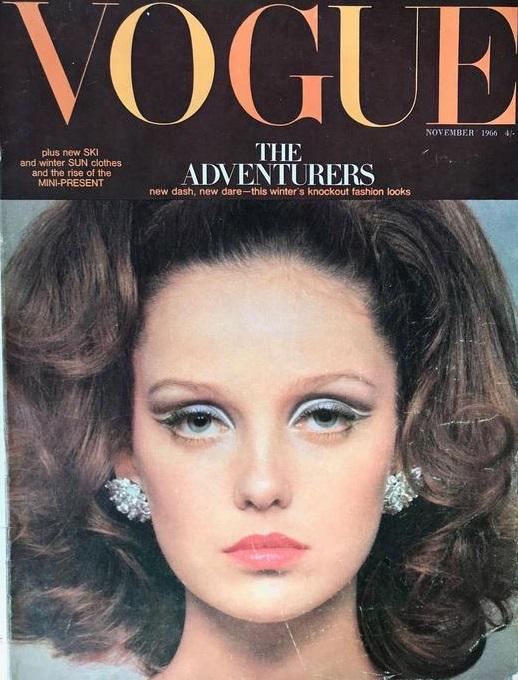 British Vogue Cover November 1966