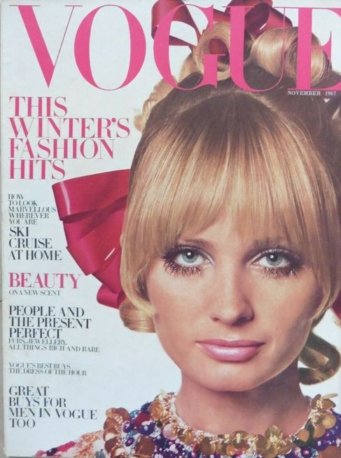 British Vogue Cover November 1967
