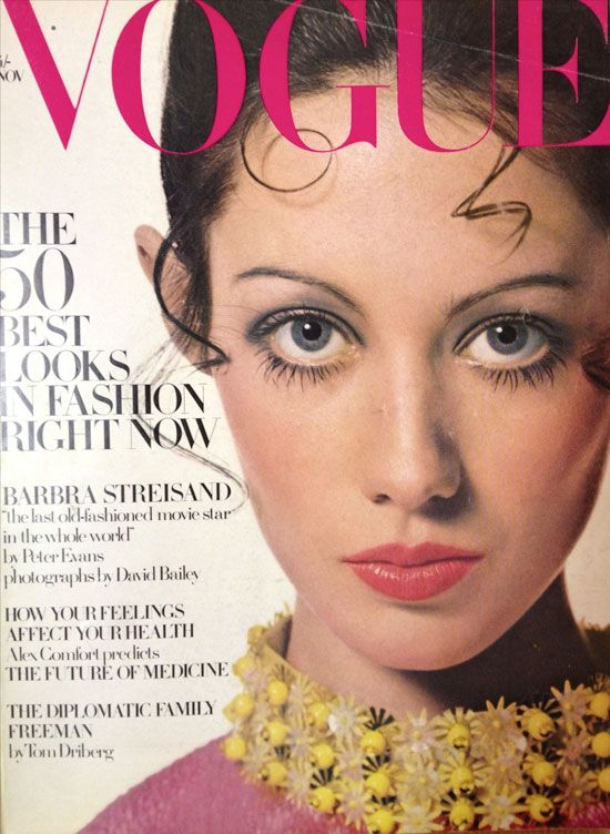 British Vogue Cover November 1968