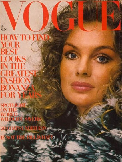 British Vogue Cover November 1970