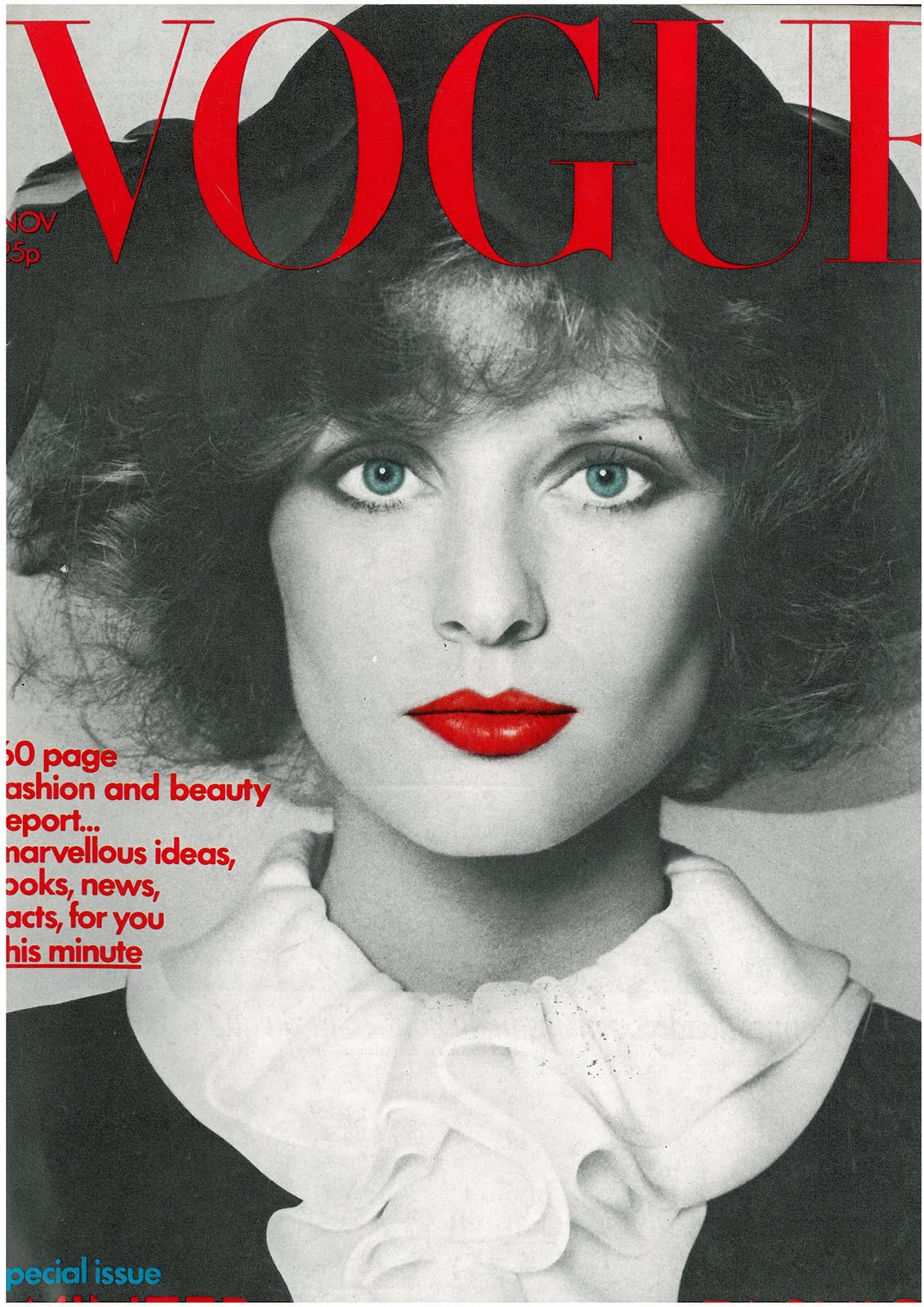 British Vogue Cover November 1971