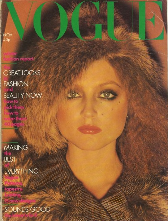 British Vogue Cover November 1974