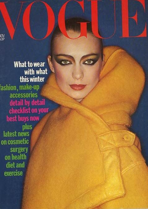 British Vogue Cover November 1976