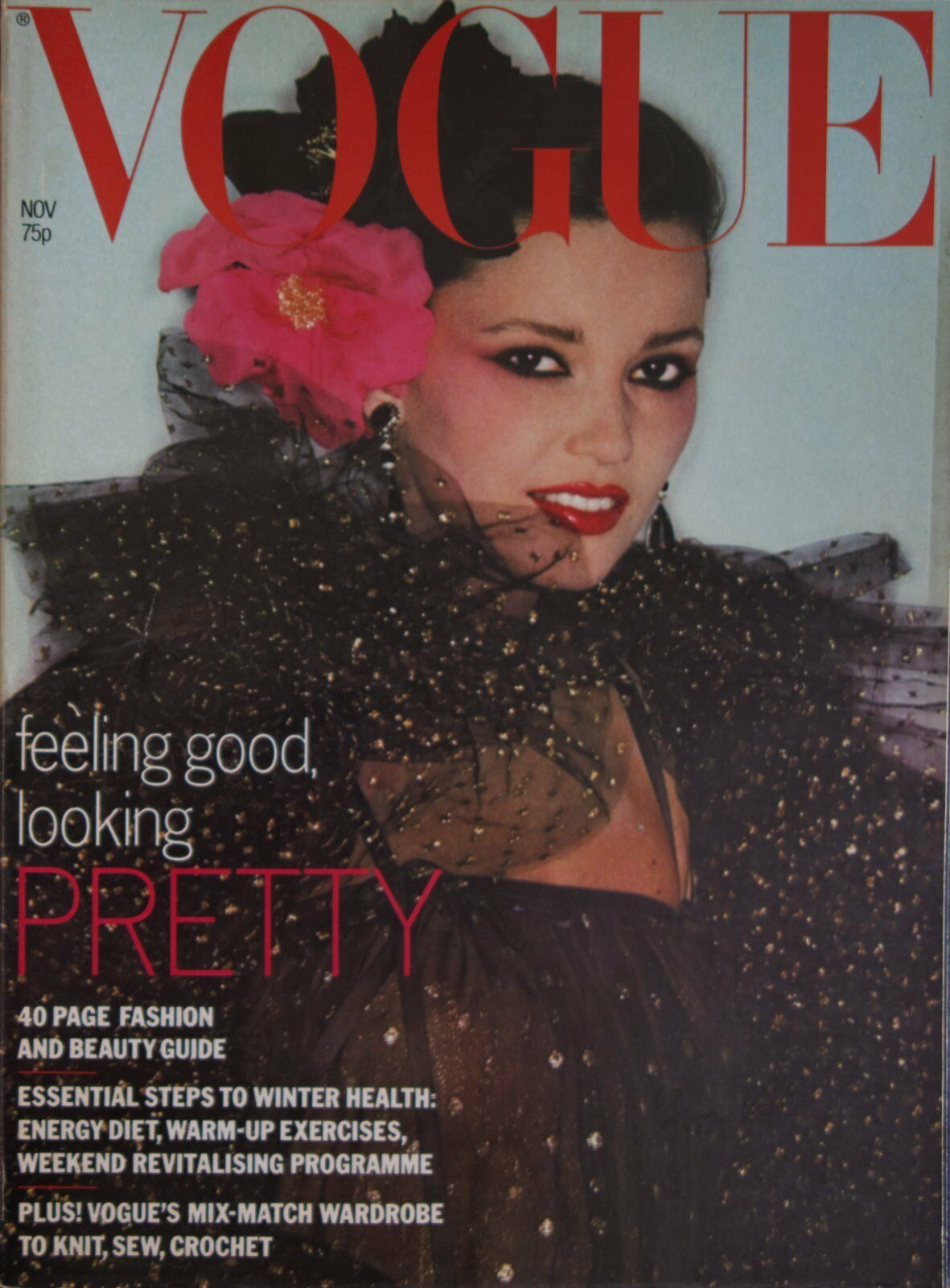 British Vogue Cover November 1977