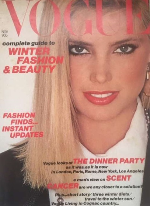 British Vogue Cover November 1979