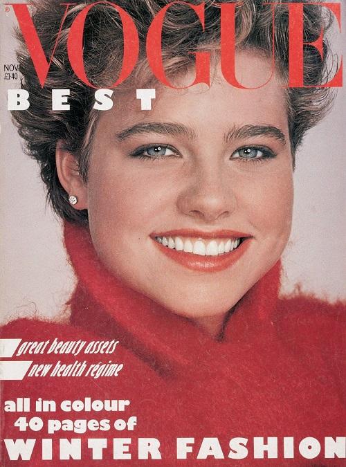 British Vogue Cover November 1982