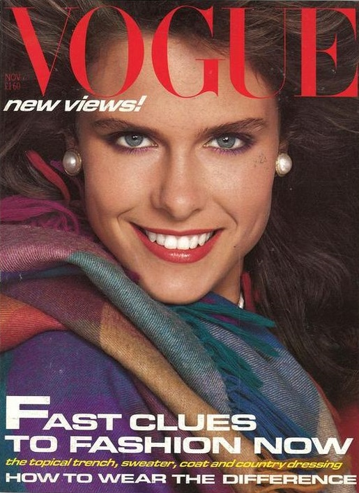 British Vogue Cover November 1983