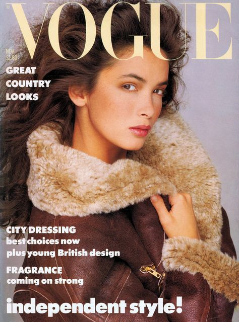 British Vogue Cover November 1986