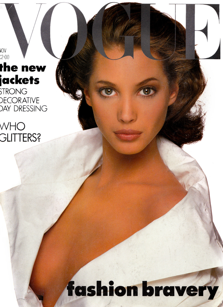 British Vogue Cover November 1987
