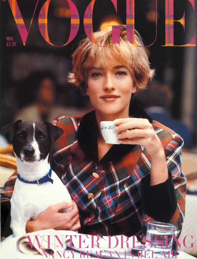 British Vogue Cover November 1989