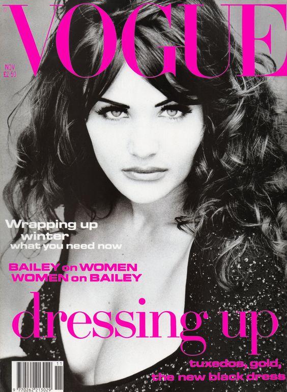 British Vogue Cover November 1992