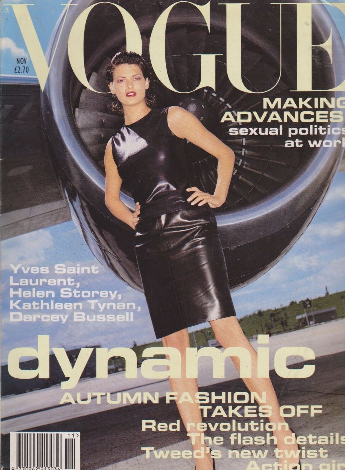 British Vogue Cover November 1994