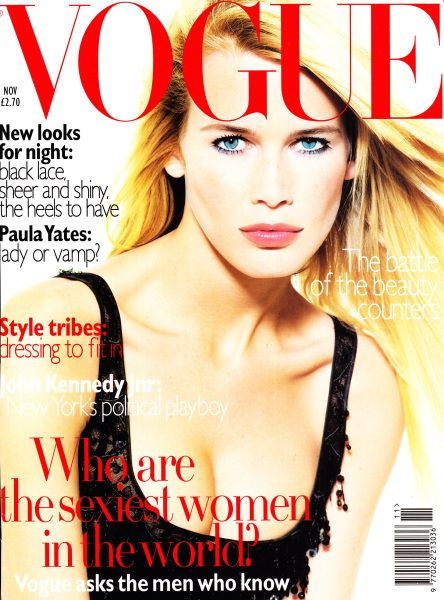 British Vogue Cover November 1995