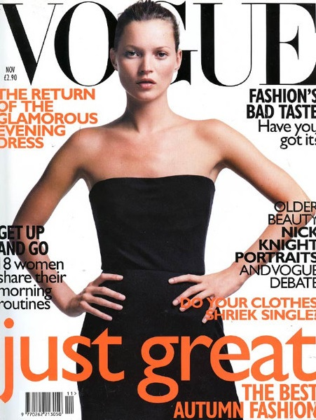 British Vogue Cover November 1998