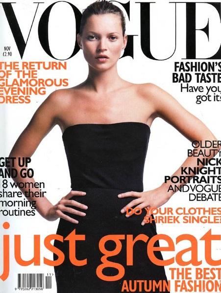 British Vogue Cover November 1998