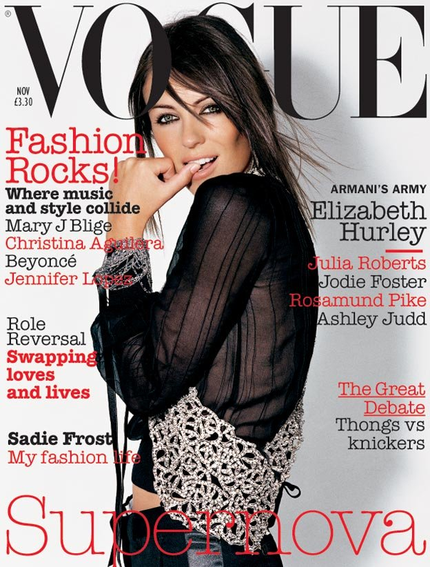 British Vogue Cover November 2003