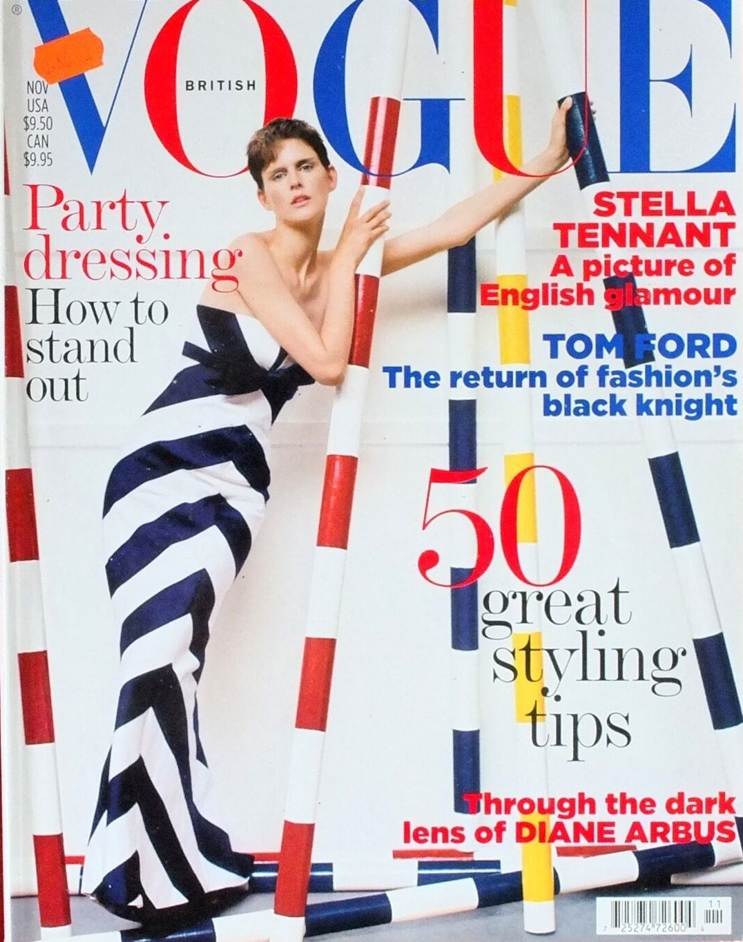 British Vogue Cover November 2005