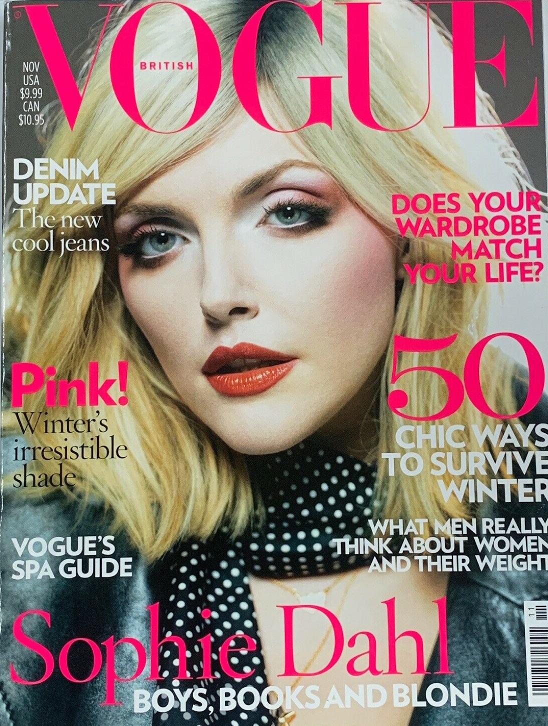 British Vogue Cover November 2007