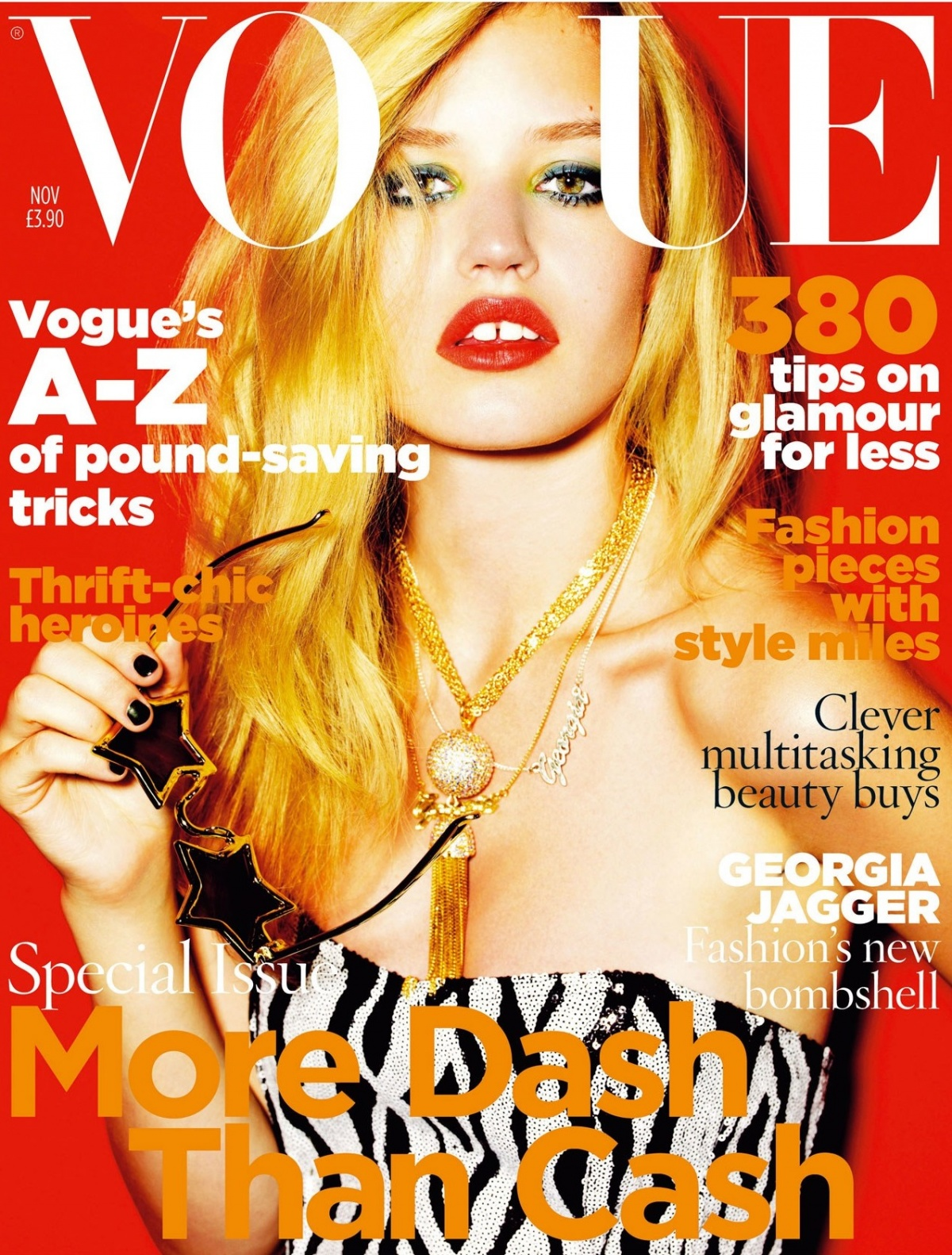 British Vogue Cover November 2009