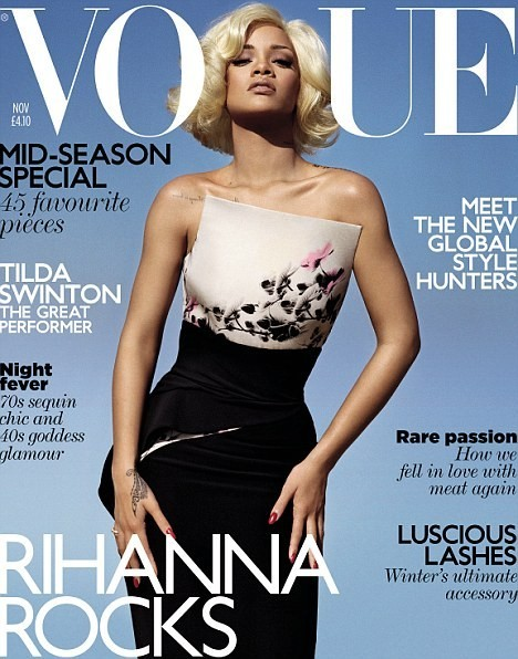 British Vogue Cover November 2011